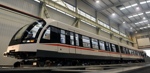 A low-cost Maglev rolls out in China